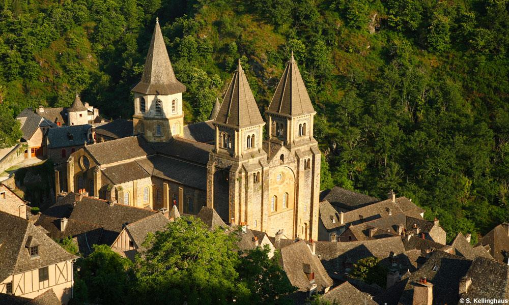 Conques et son abbatiale, Aveyron © S. Kellinghaus