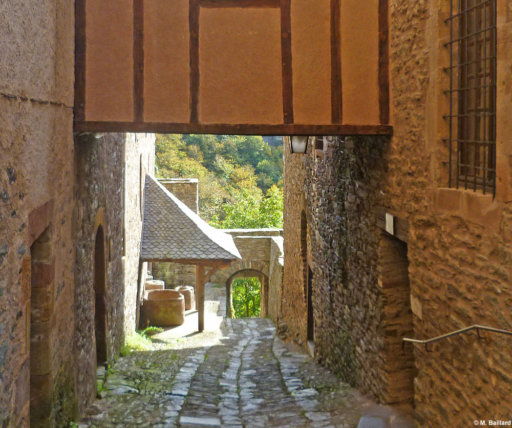 Ruelle, Conques