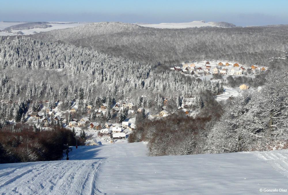 Station de ski de Brameloup, Aveyron ©Gonzalo-Diaz