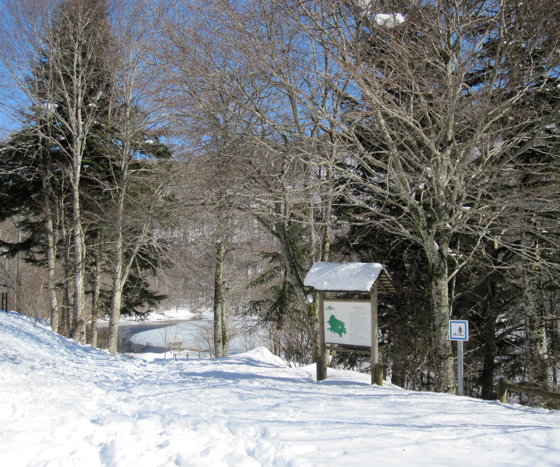 Lac des Picades, Aveyron