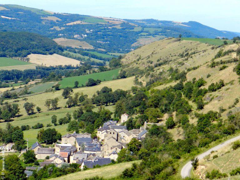 Saint-Grégoire près de Séverac-le-Château en Aveyron
