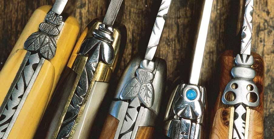 Couteau Laguiole © Conseil général de l'Aveyron