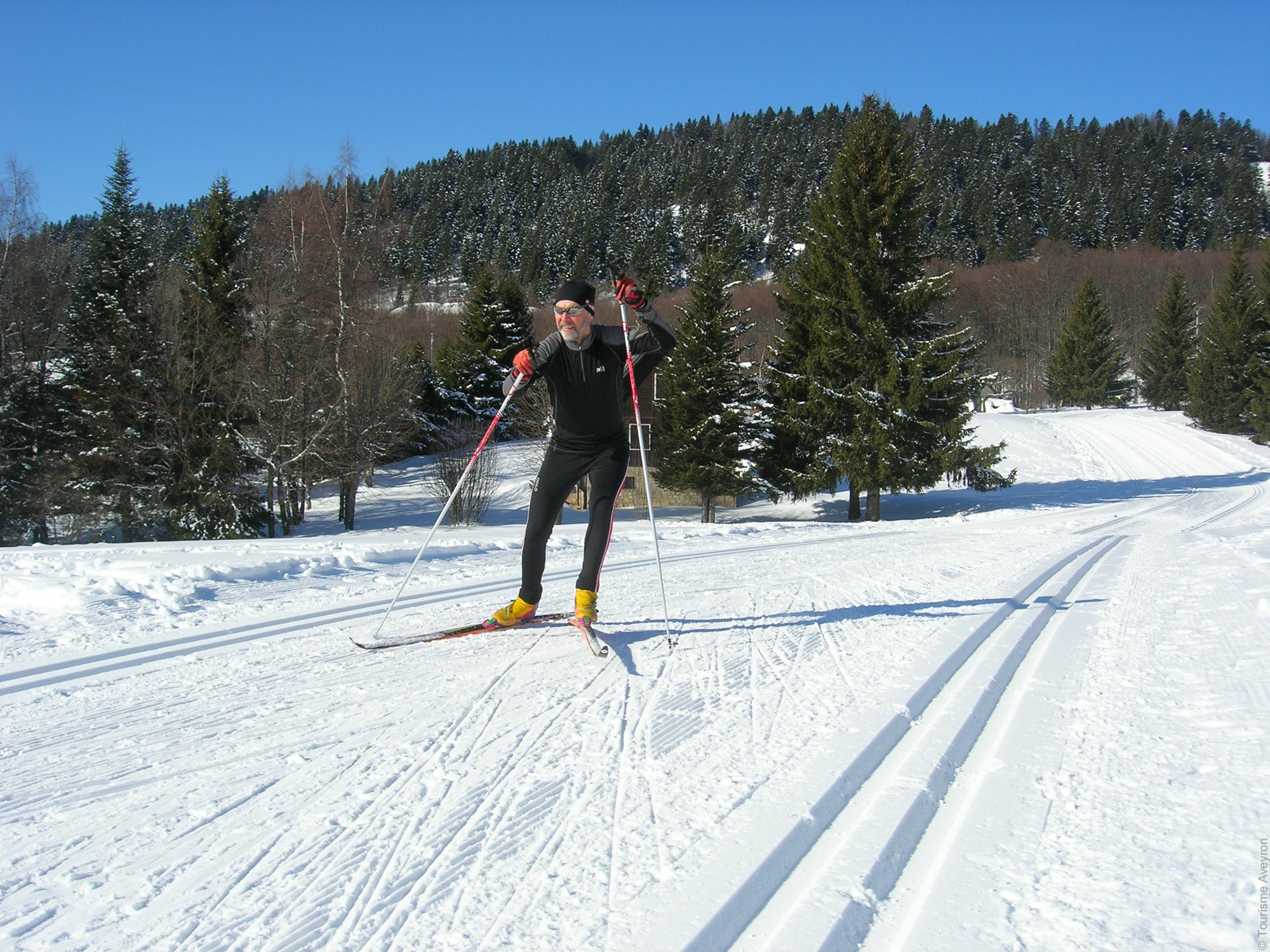 Ski Fond © Tourisme Aveyron