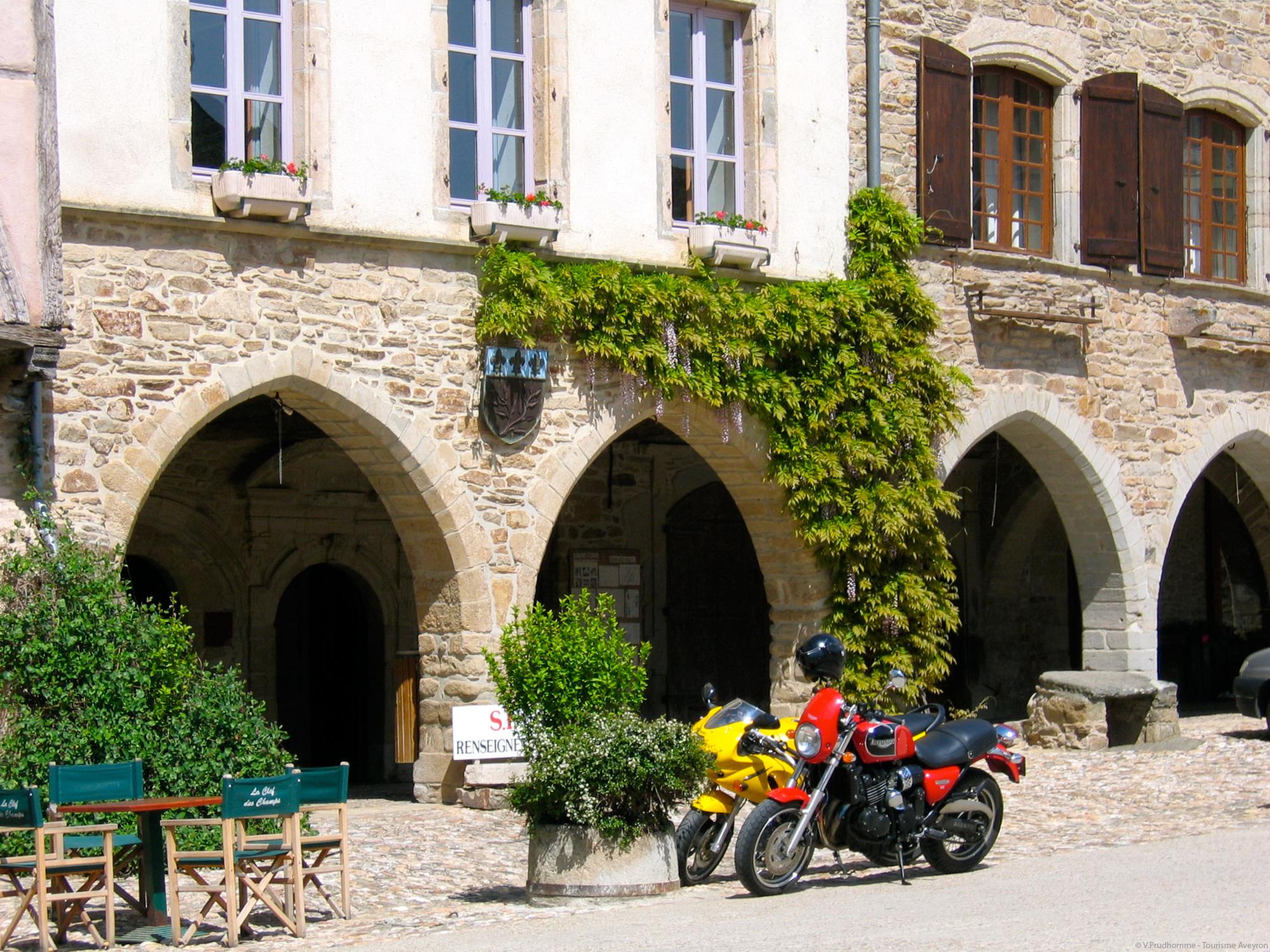 Moto Aveyron © V.Prudhomme - Tourisme Aveyron