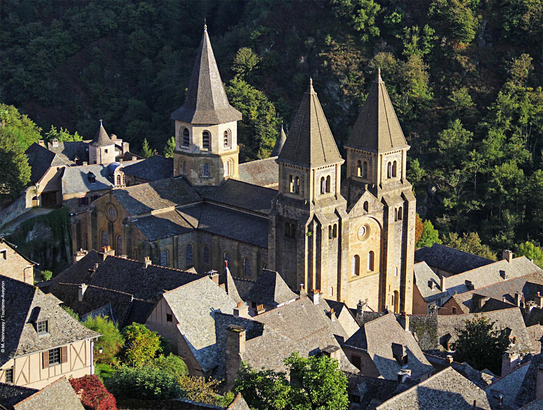 Abbatiale de Conques © M. Hennessy / Tourisme Aveyron