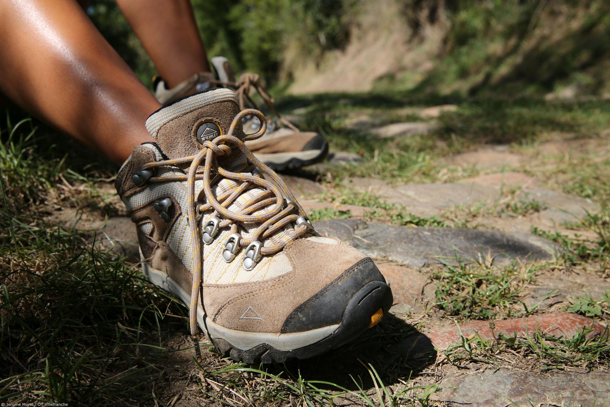 Chaussures Randonnée © Jerome Morel - OT Villefranche