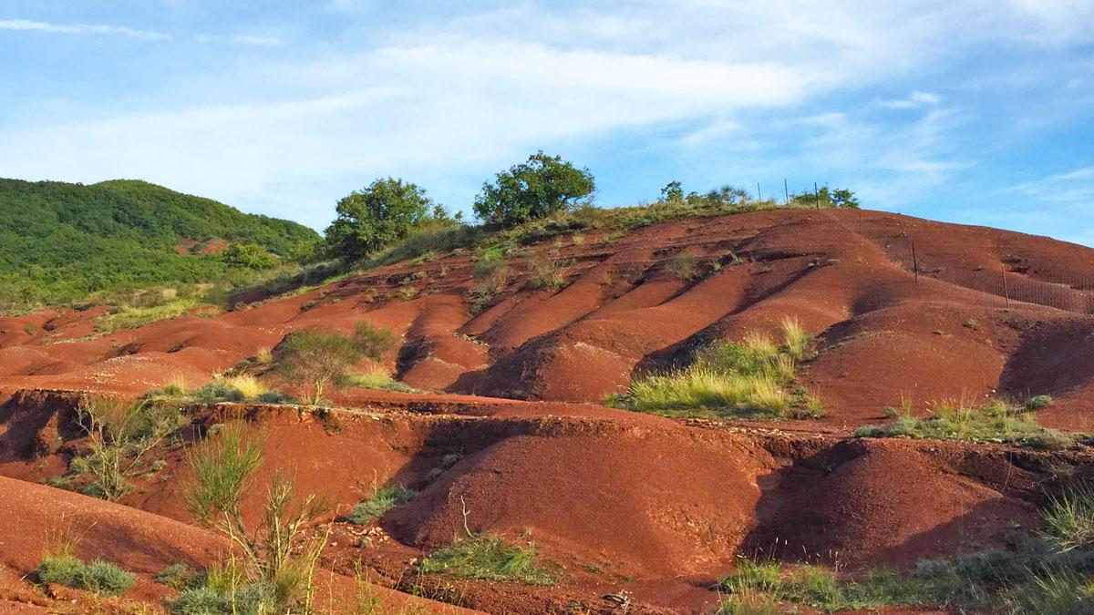 Dunes dans le Rougier de Camarès