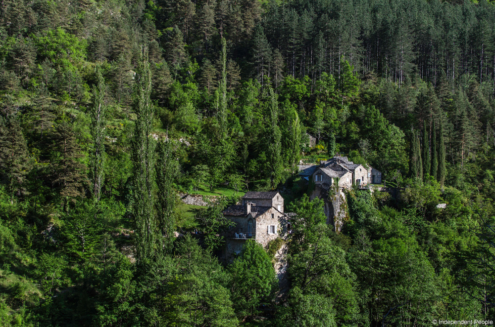 Maison dans les gorges du Tarn, Aveyron © Independent People
