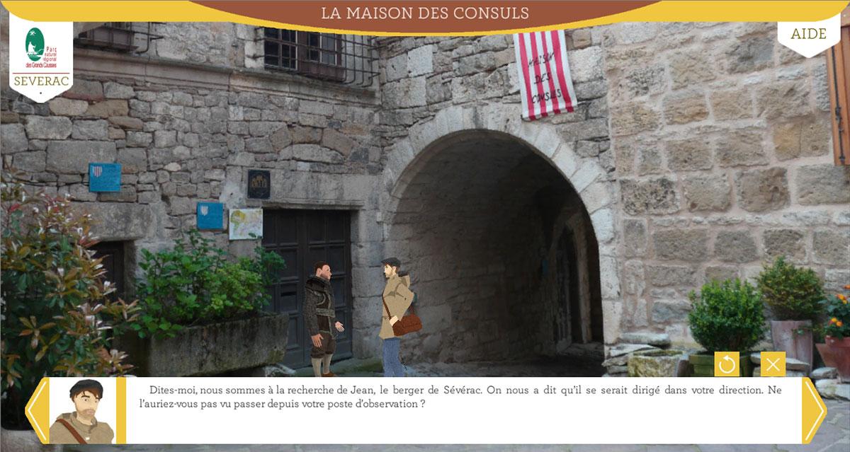 Balade numérique à Sévérac-le-Château