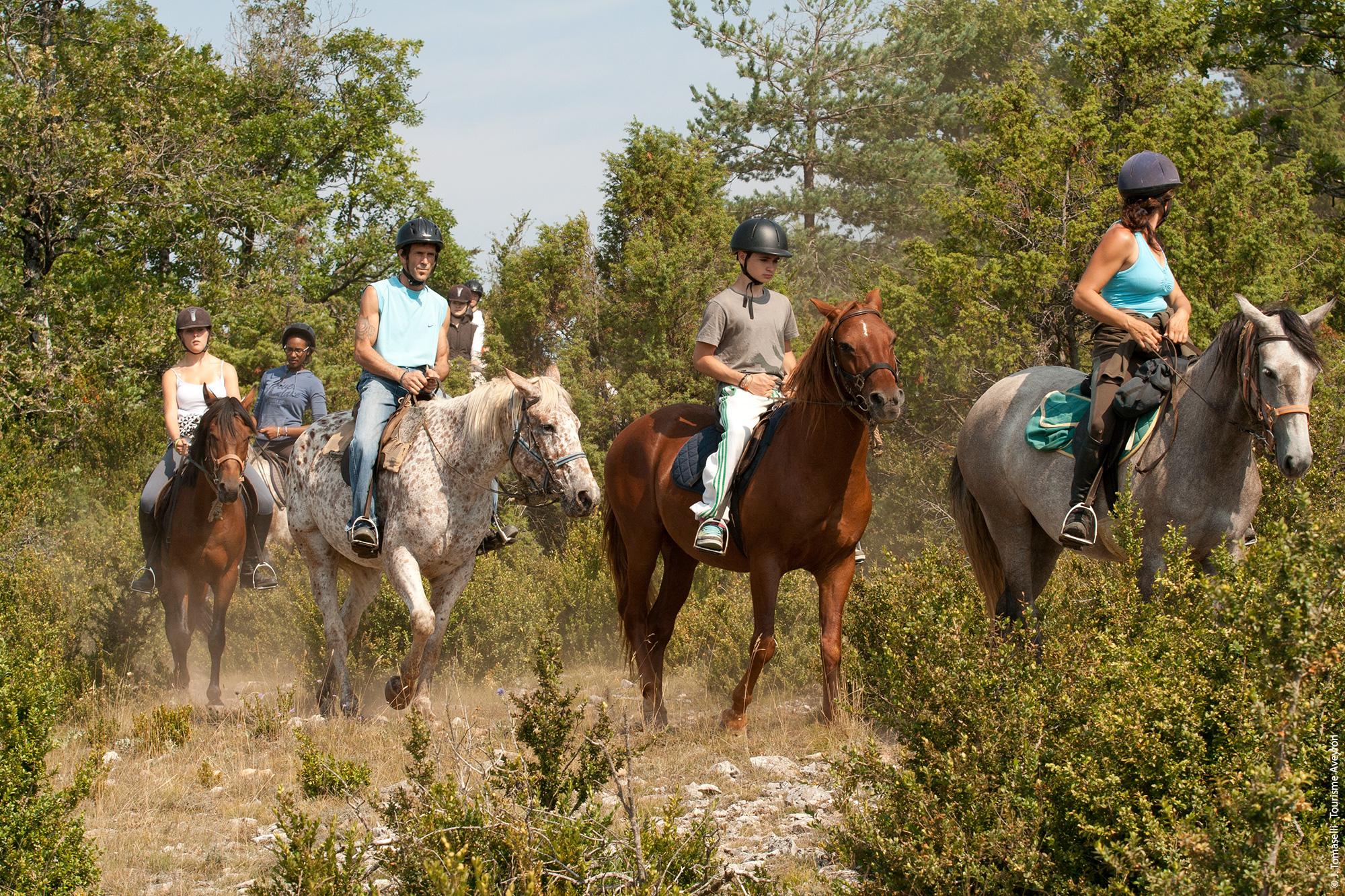Centre Equestre © J.Tomaselli / Tourisme Aveyron