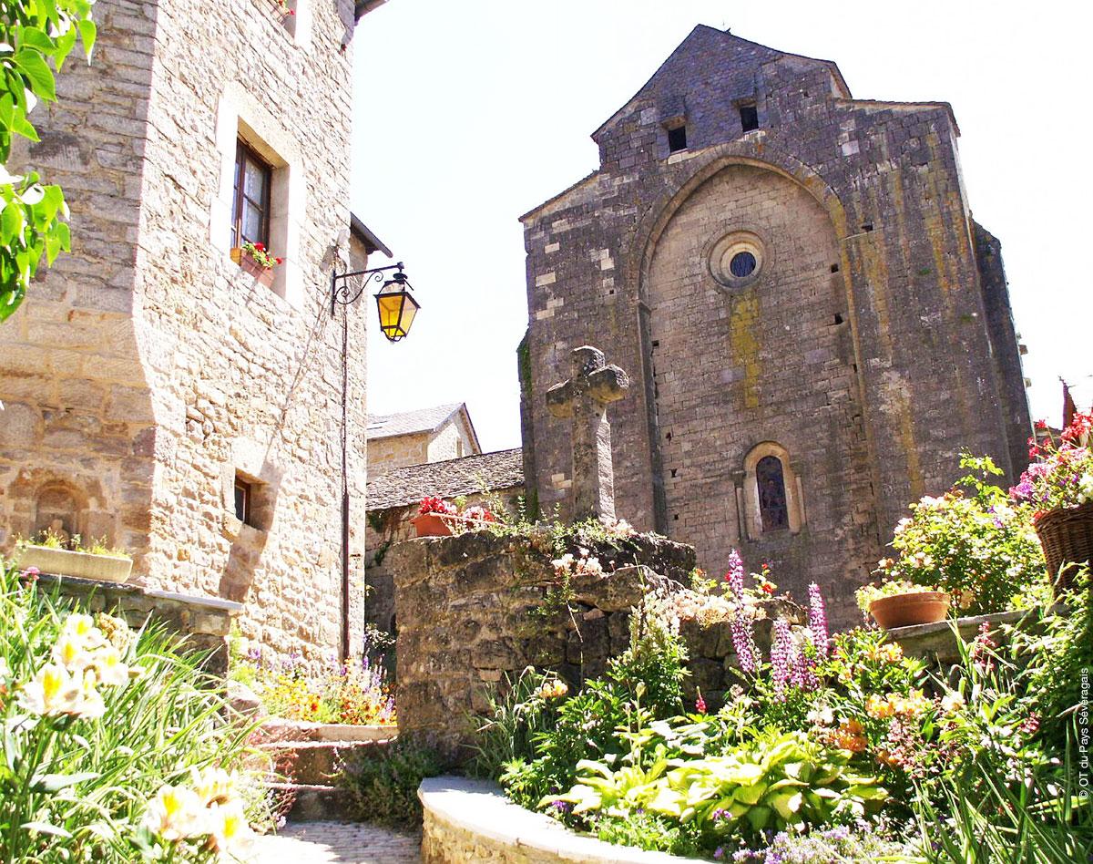 Eglise de Saint-Grégoire © OT du Pays Sévéragais