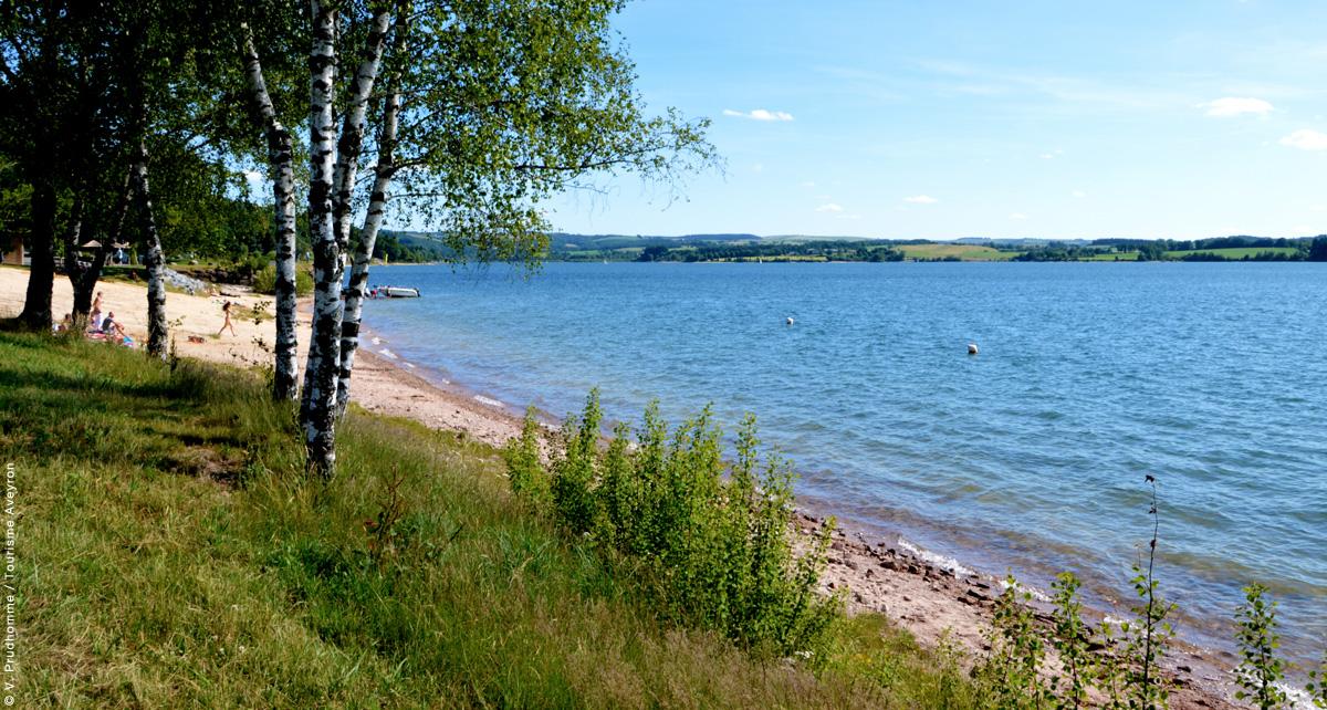 Lac de Pareloup © VP / CDT12