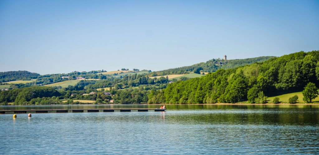 Lac de Villefranche-de-Panat © M. Hennessy - Tourisme Aveyron