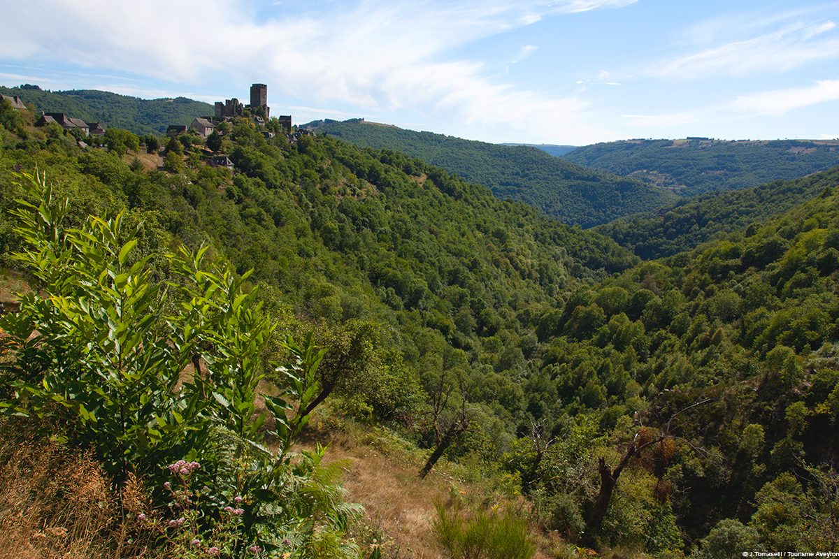 Paysages Carladez © J.Tomaselli - Tourisme Aveyron