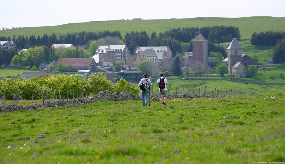 Rando Aubrac © Gonzalo Diaz - Tourisme Aveyron