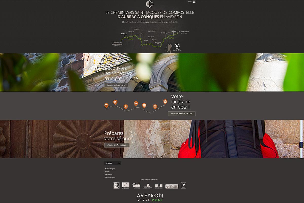 Site Internet st-jacques-aveyron