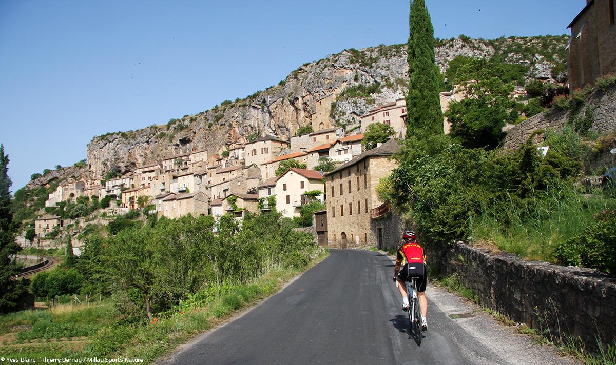 Cyclo Peyre © Yves Blanc - Thierry Bernad - Millau Sports Nature
