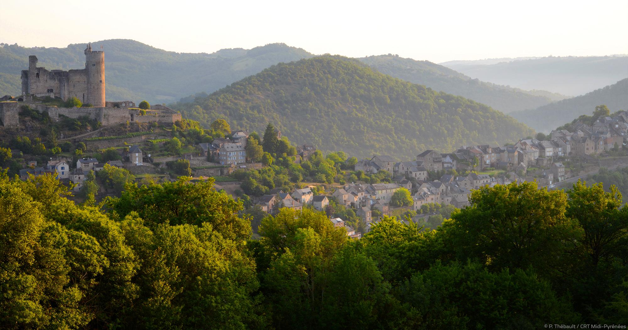 Najac © P.Thebault - CRT Midi Pyrenées