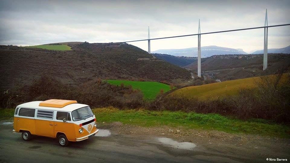 Viaduc de Millau, Aveyron © Nina Barrera