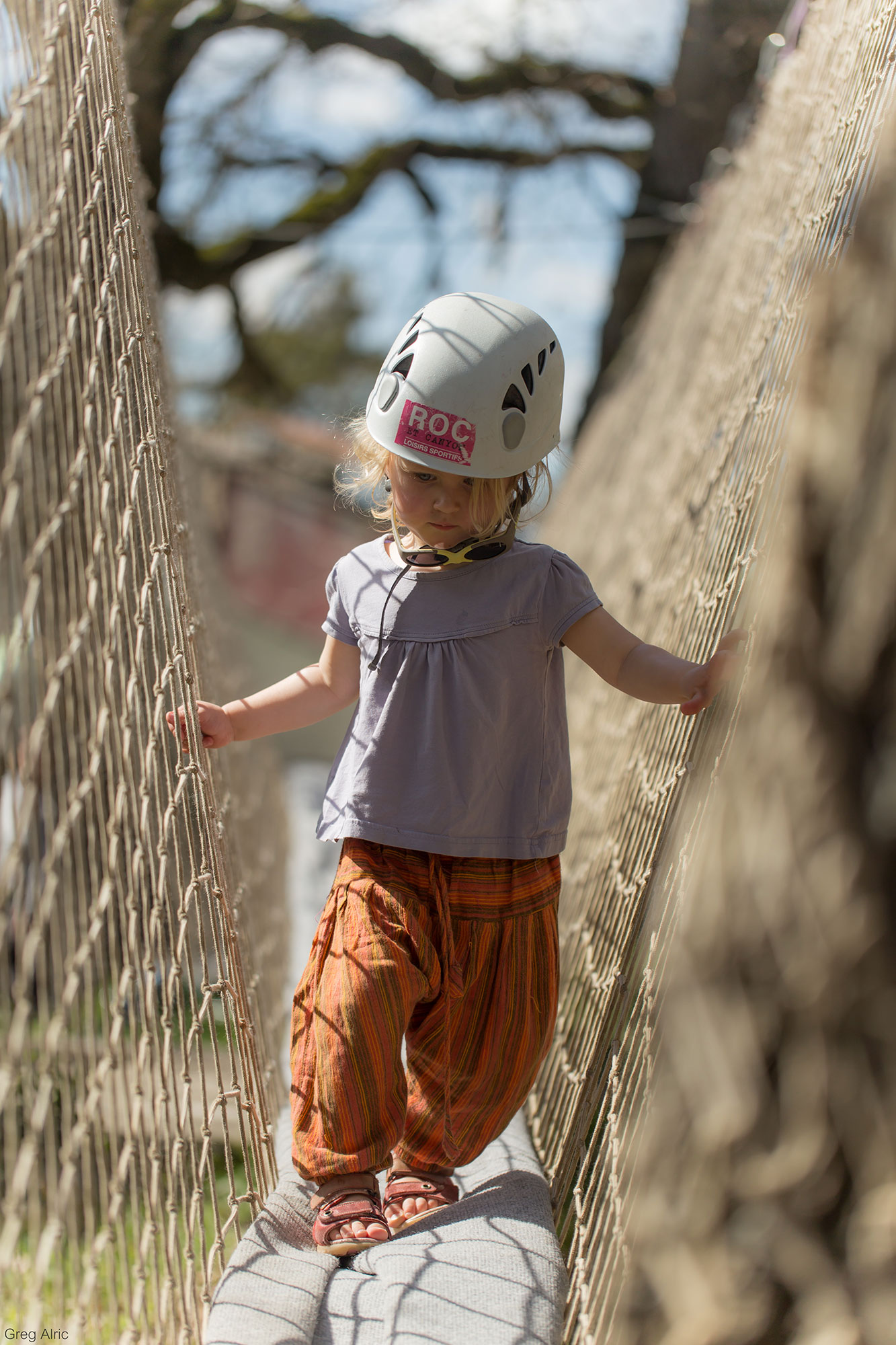 Filet Aerien Enfant - Roq Rando Raid © Greg Alric