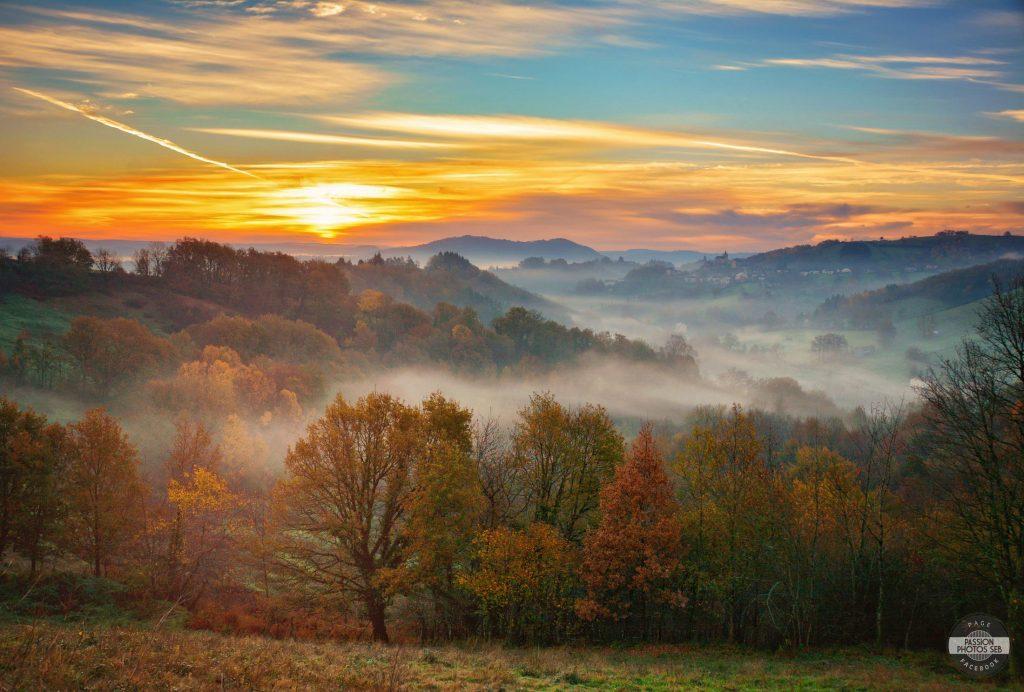 La campagne en Aveyron : Auzits © Passion Photos Séb