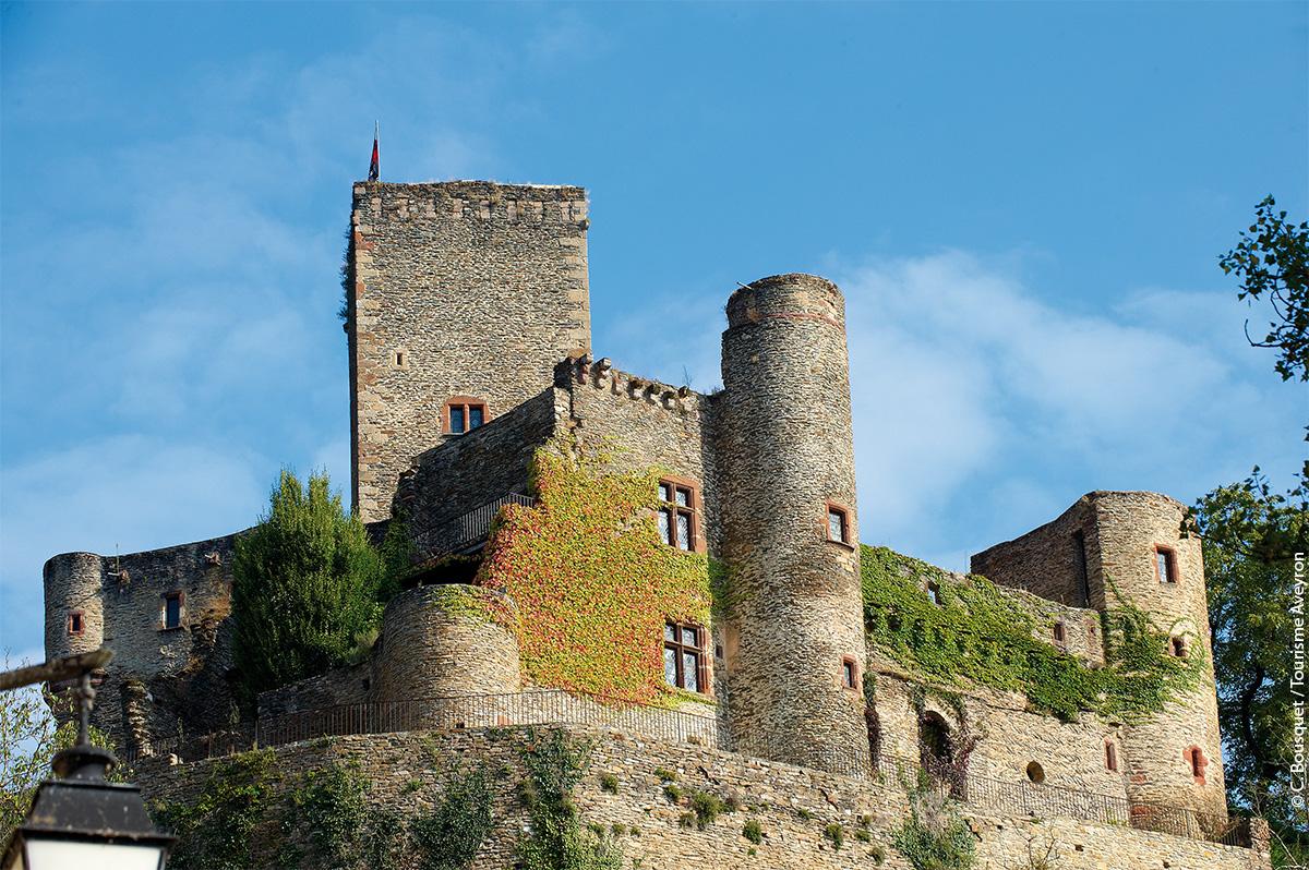 Chateau de Belcastel, Aveyron © C. Bousquet / Tourisme Aveyron