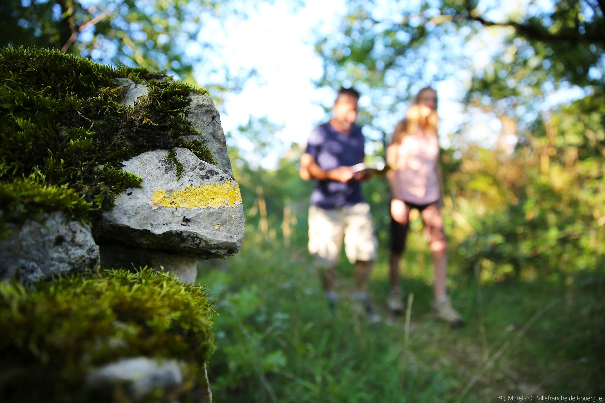 Randonnée Villefranche de Rouergue © J. Morel / OT Villefranche de Rouergue