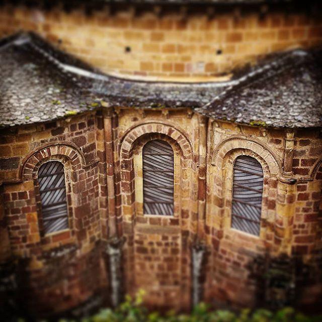 Abbatiale de Conques, vitraux Soulages @cococmpls