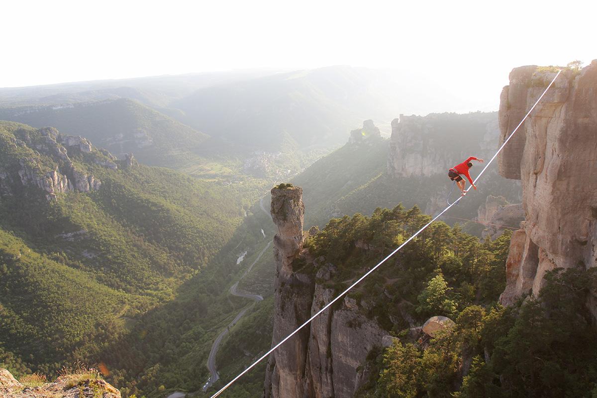 Highline en Aveyron © Greg ALRIC / Natural Games