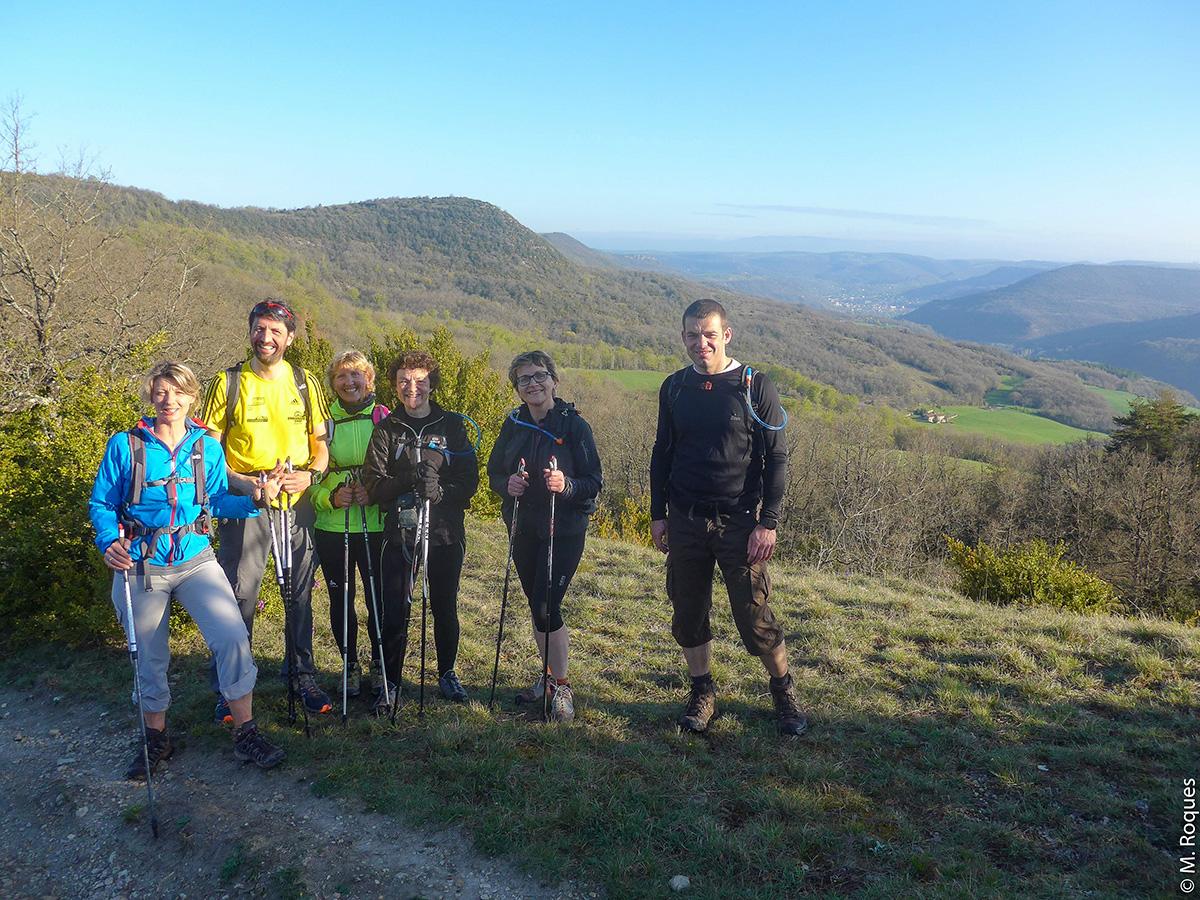 L'Aveyron comme terrain d'entraînement © M. Roques
