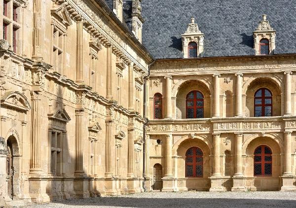 Façade du Château de Bournazel, Aveyron