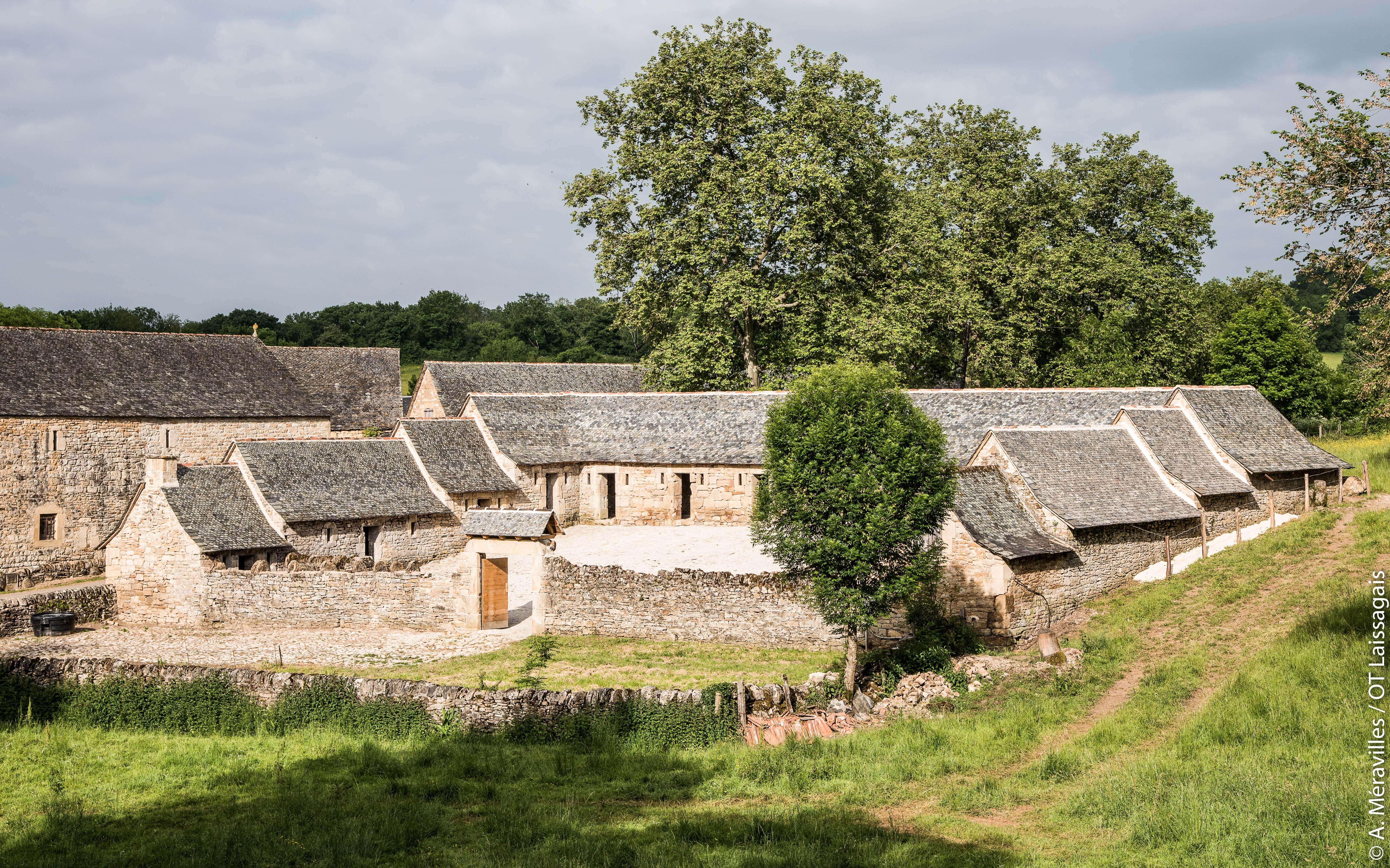 Porcherie, les Bourines, Aveyron © A. Méravilles / OT Laissagais