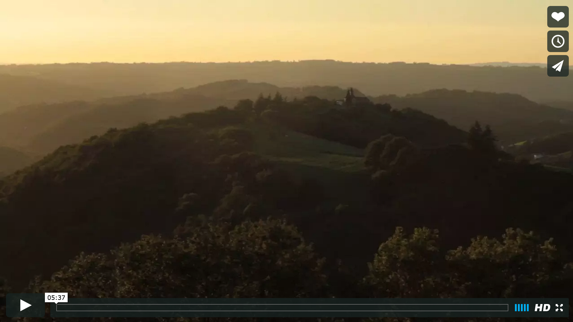 Vidéo, Château de Bournazel, Aveyron