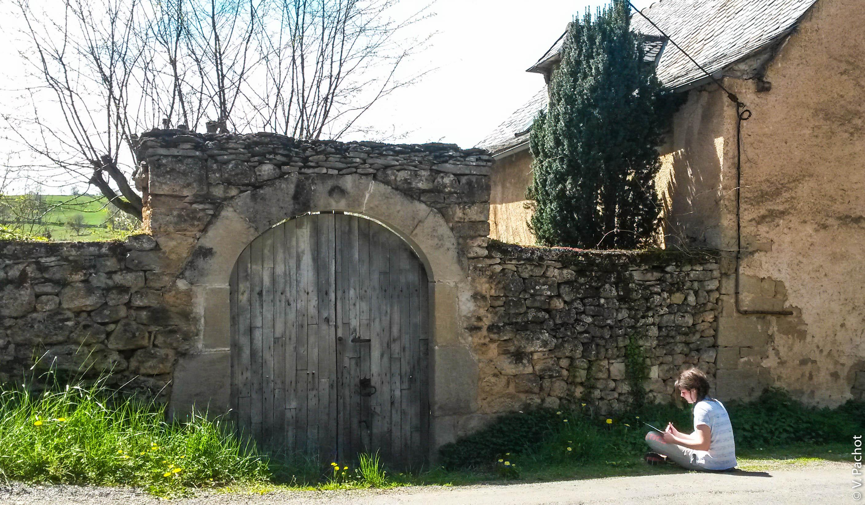 Rando Croquis en Aveyron © V. Pachot