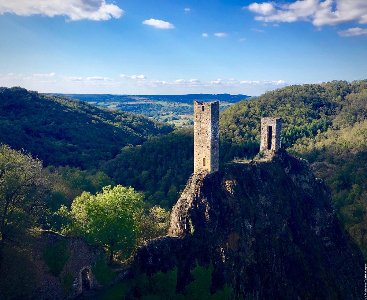 Peyrusse-le-Roc, Aveyron © V. Prudhomme - Tourisme Aveyron