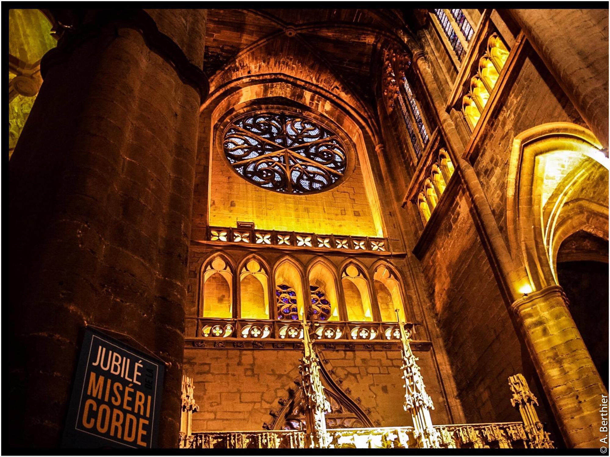 Cathédrale de Rodez, intérieur