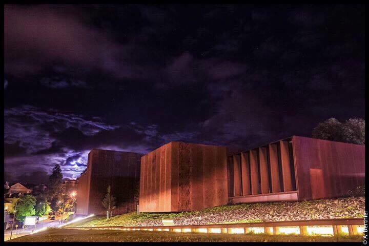 Musée Soulages de nuit, Rodez, Aveyron