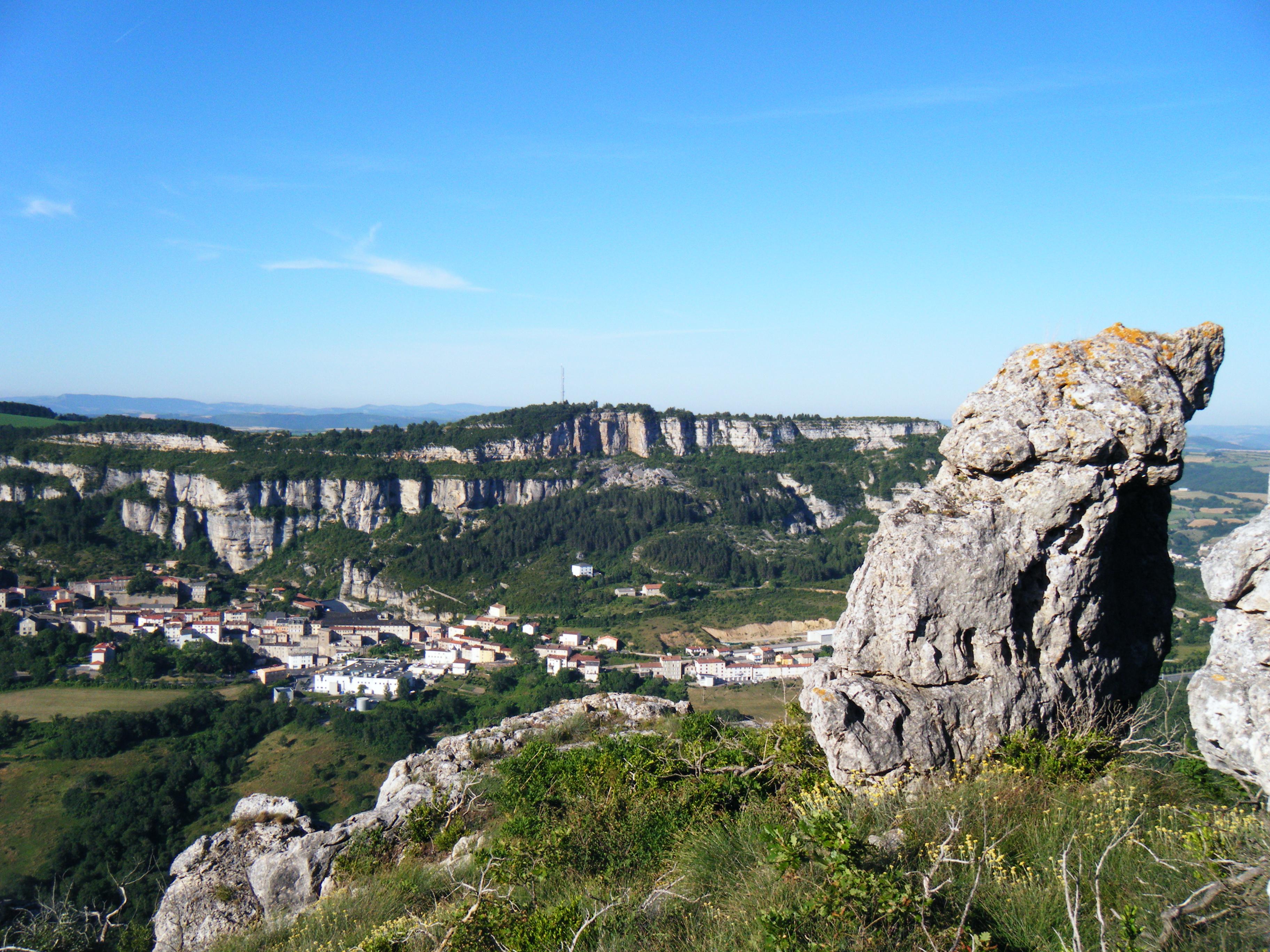 Roquefort en Aveyron © D. Atché-OT Roqurfort-Saint-Affrique