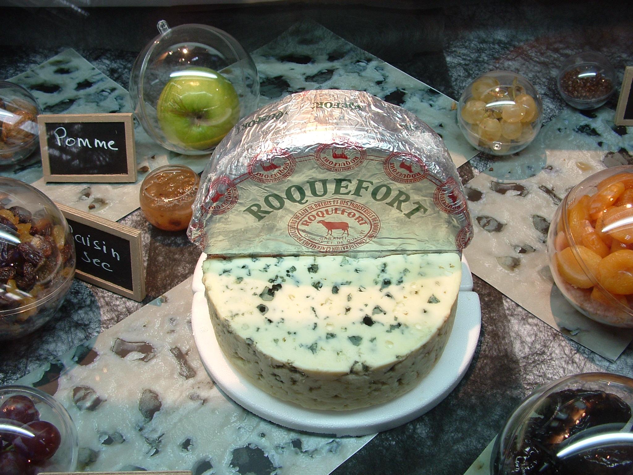 Roquefort de l'Aveyron © D. ATCHE-OT Roquefort-Saint-Affrique