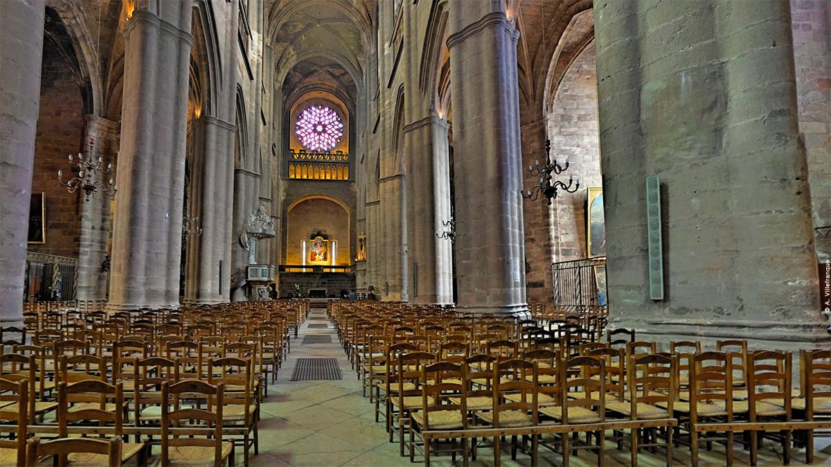 Visite panoramique de la cathédrale de Rodez © A. Villefranque