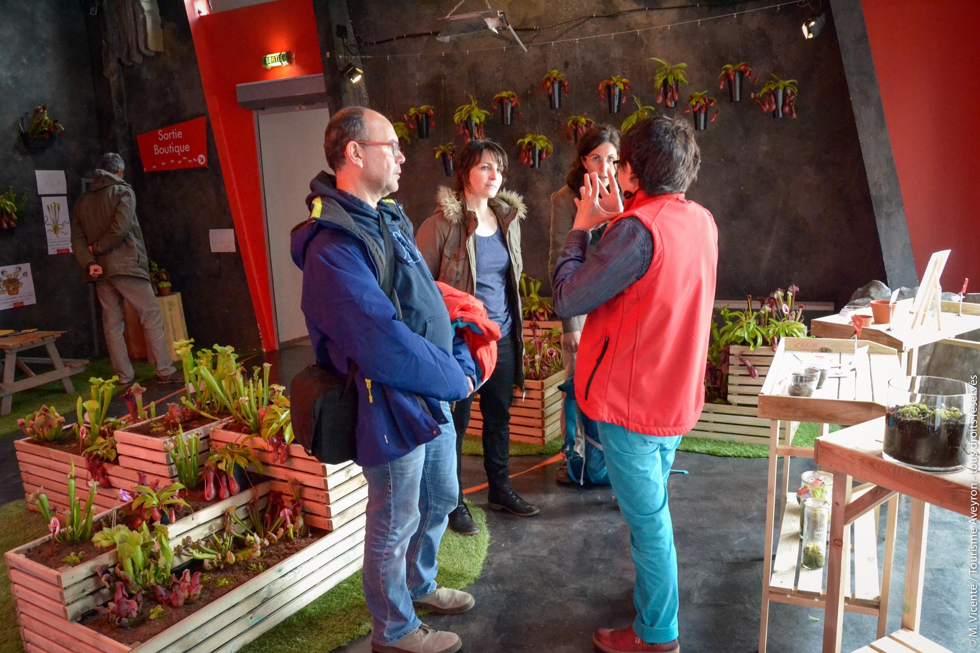 Plantes carnivores, Micropolis, Aveyron