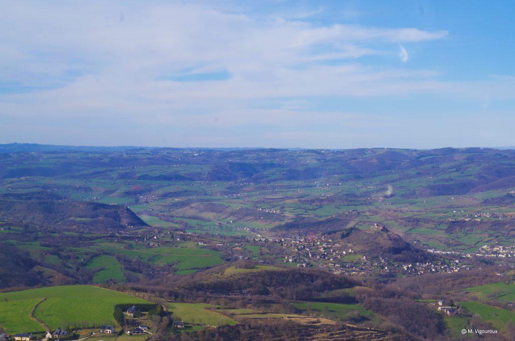 Chateau de Calmont d'Olt, Espalion, Aveyron © M.Vigouroux