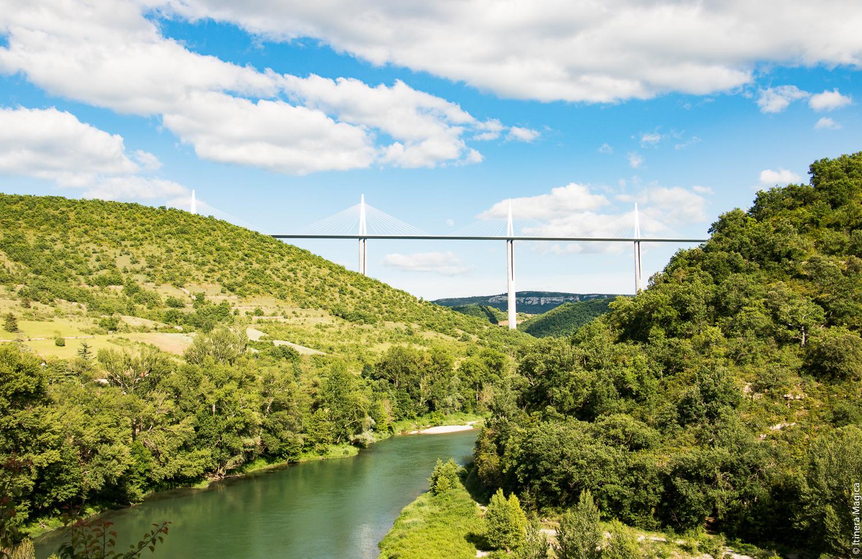 Viaduc de Millau, Aveyron © Itinera Magica