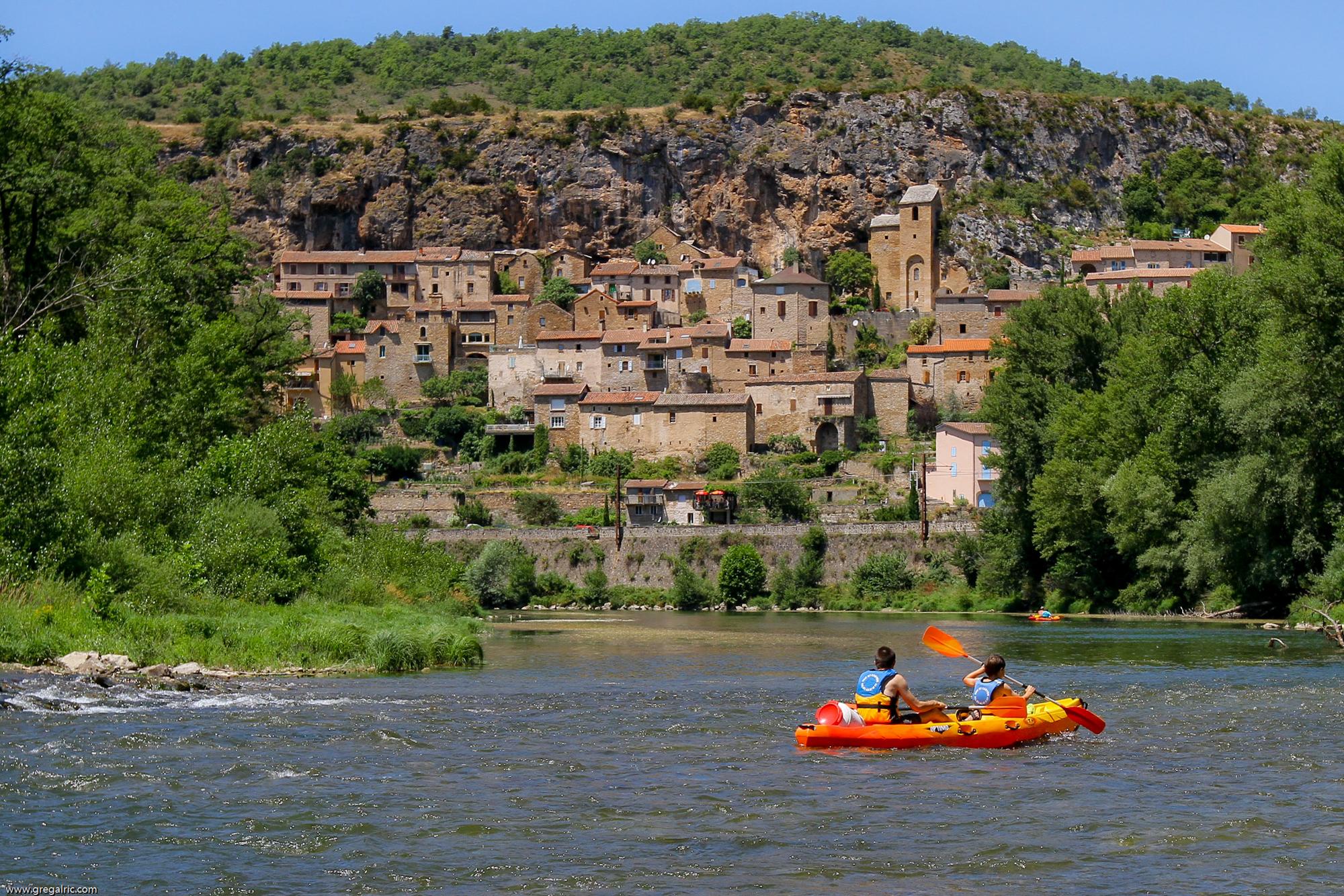 Canoë à Peyre, Aveyron