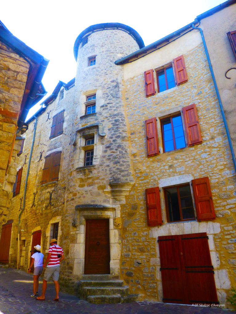 Cité médiévale, Sévérac d'Aveyron © OT Severac d'Aveyron