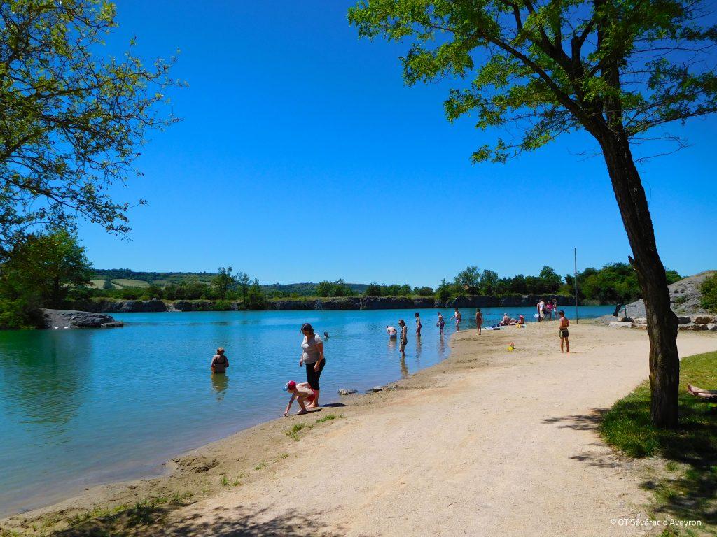 Lac de la CISBA, Lapanouse, Aveyron ©OT Sévérac d'Aveyron