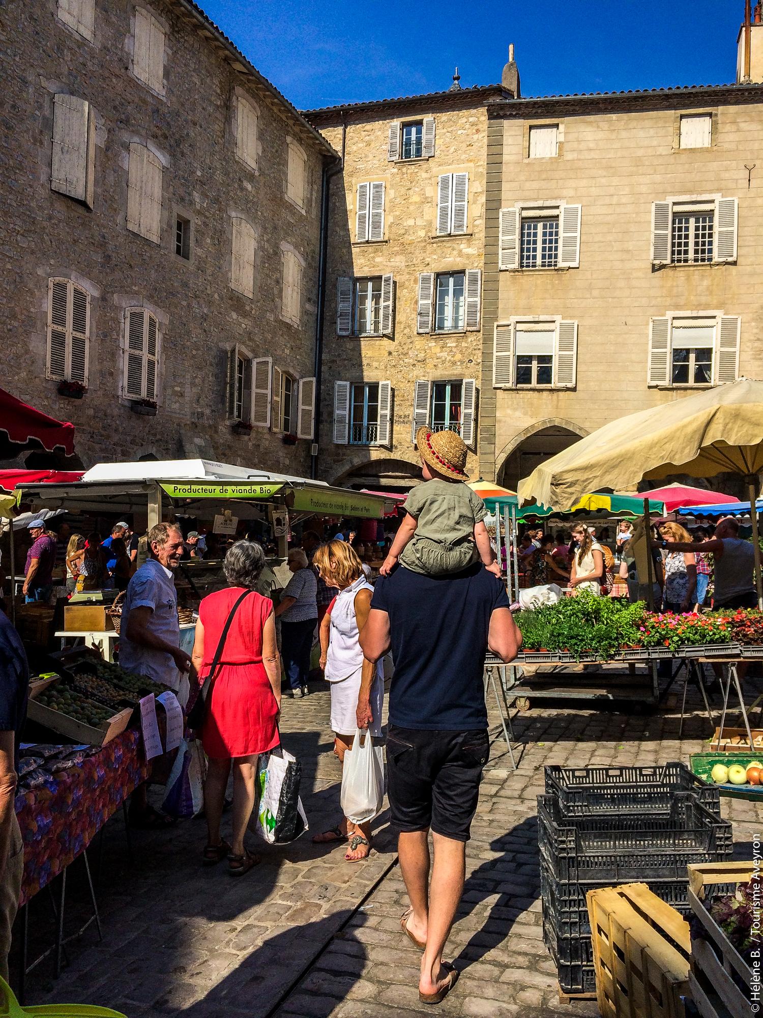 Marché de Villefranche-de-Rouergue