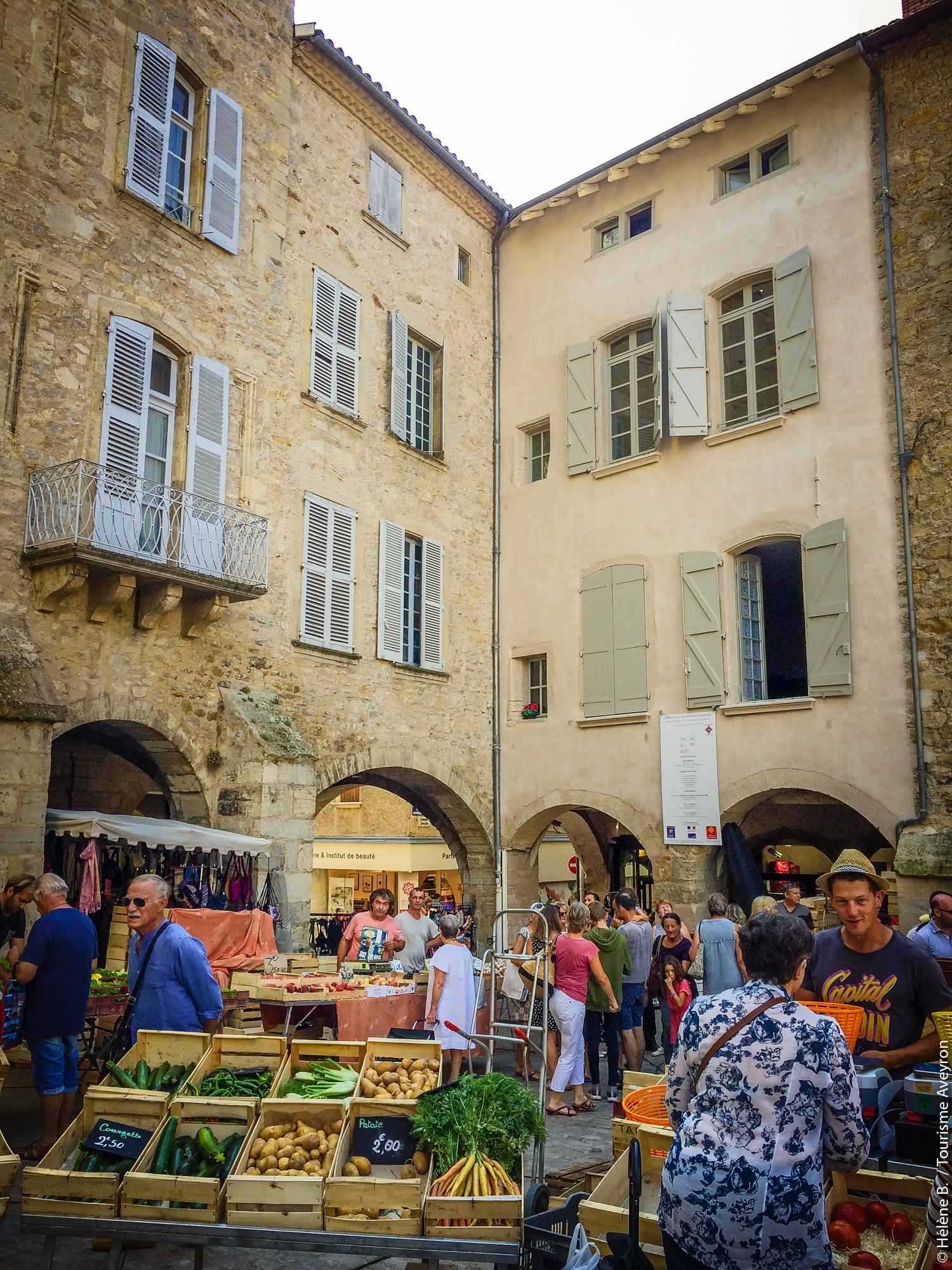Marché de Villefranche-de-Rouergue, Aveyron
