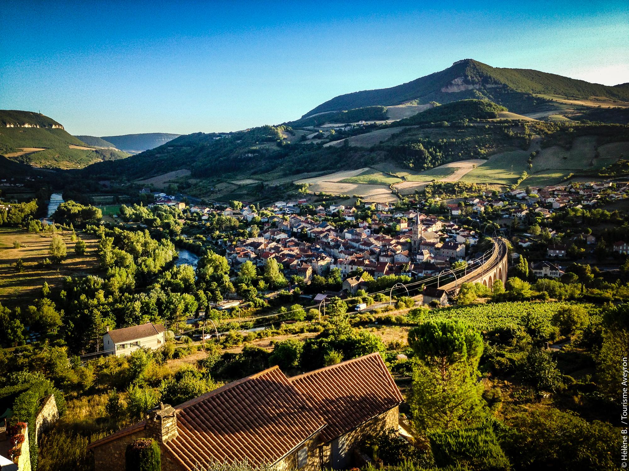 Vue de Compeyre, Aveyron