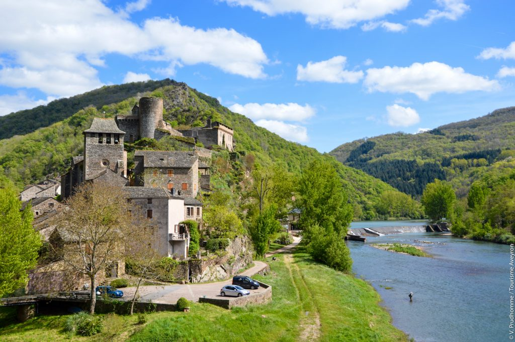 Brousse-le-Château, Aveyron © V. Prudhomme